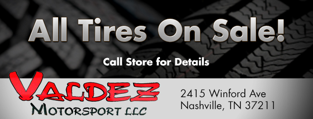 All Tires On Sale!