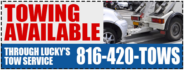 Towing available through Lucky