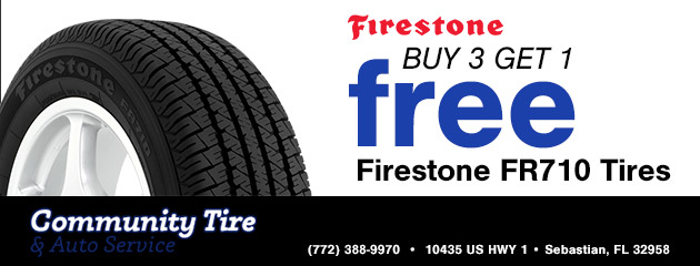 Firestone FR710 Tires Buy 3 & get 1 free