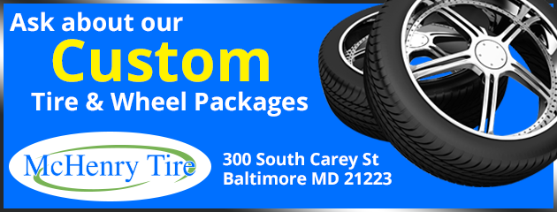Ask about our Custom Tire & Wheel Packages