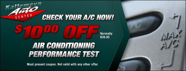 $10 Off AC Check