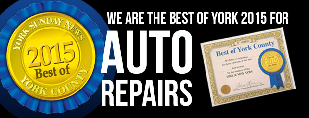 Best of York 2015 for Auto Repairs