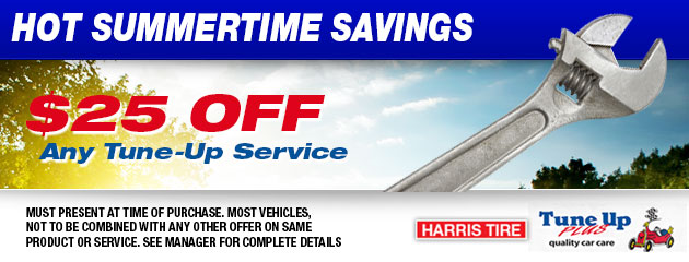 $25 off any tune-up service
