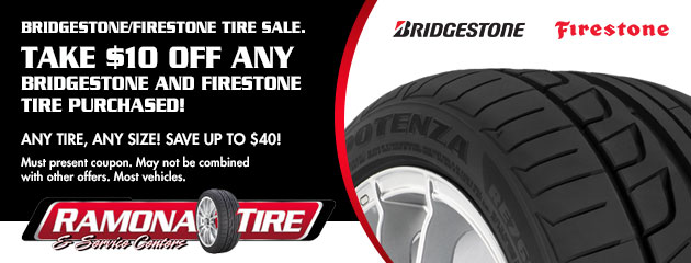Bridgestone/Firestone Tire Sale