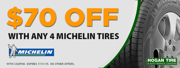 Michelin discount coupons