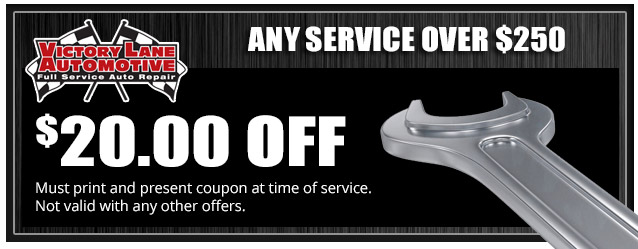 $20 OFF ANY SERVICE OVER $250!