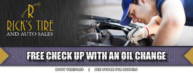 Free check up with an oil change
