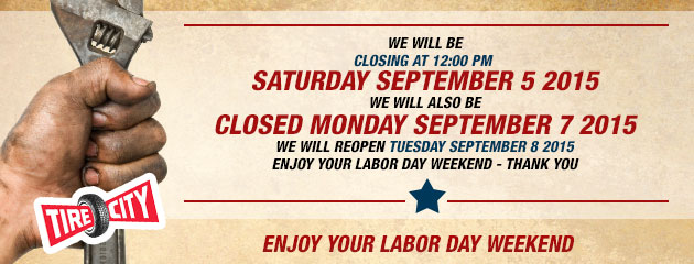 Labor Day Hours
