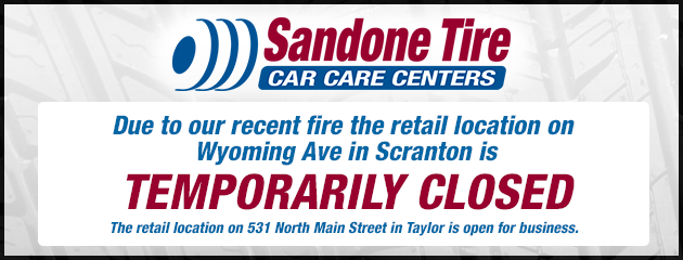 Wyoming Ave in Scranton is temporarily closed