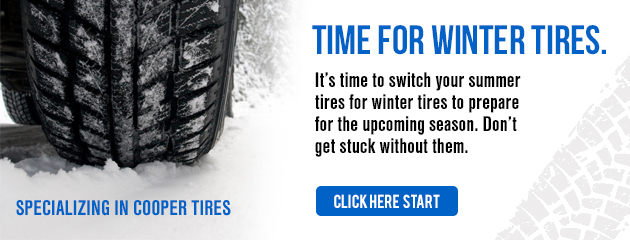 Winter Tires in Stock - Specializing in Cooper Tire