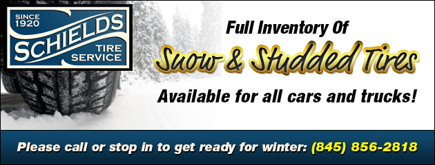 Full Inventory Of Snow & Studded Tires Available for all cars and trucks!