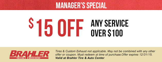 $15 Off Any Service Over $100