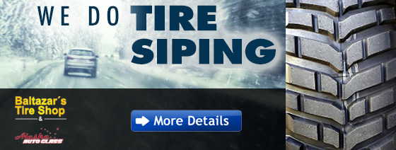 We Offer Tire Siping