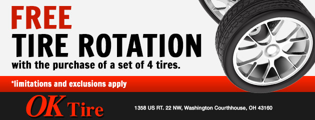 Free Tire Rotation