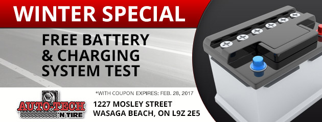 Winter Special  Free Battery & Charging System Test