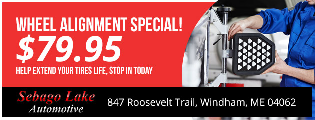 Wheel Alignment Special! -$79.95