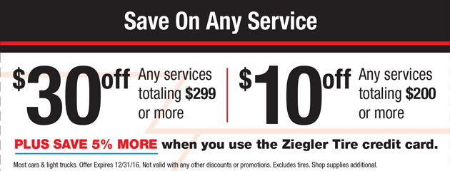 Save On any Service