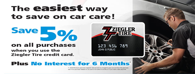 Ziegler Card Savings
