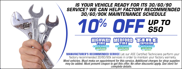 10% OFF30/60/90 service