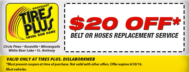 Belt and Hoses Service