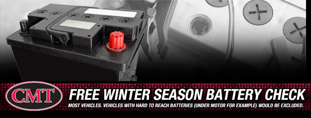 Free Winter Season Battery Check