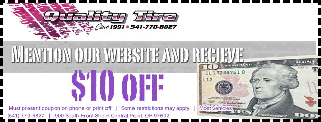 Mention our website and receive $10 off