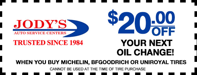 $20 off oil change