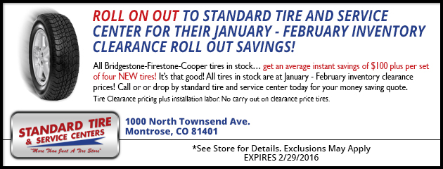 JANUARY-FEBRUARY INVENTORY CLEARANCE ROLL OUT SAVINGS!