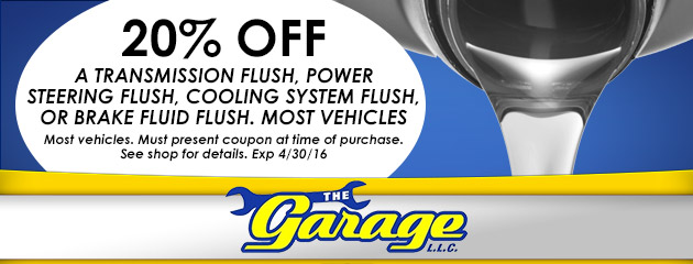 20% off select flush services