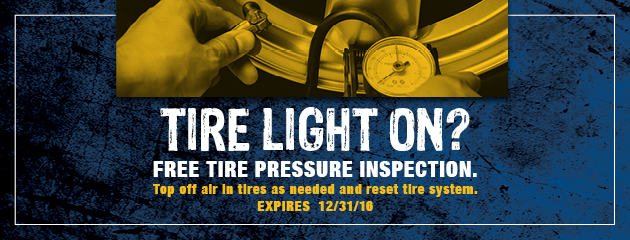 Free Tire Pressure Inspection