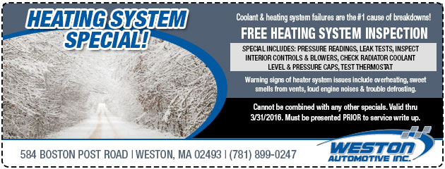 Heating System Special Feb/March