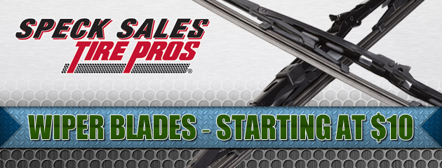 Wiper Blades - Starting at $10