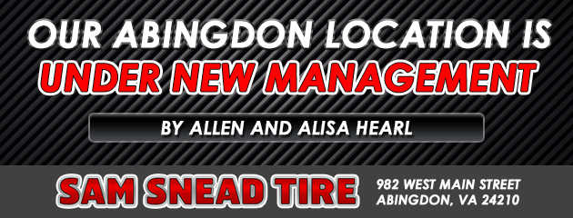 Our Abingdon location is UNDER NEW MANAGEMENT by Allen and Alisa Hearl