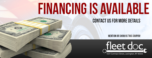 financing is available - contact us for more details