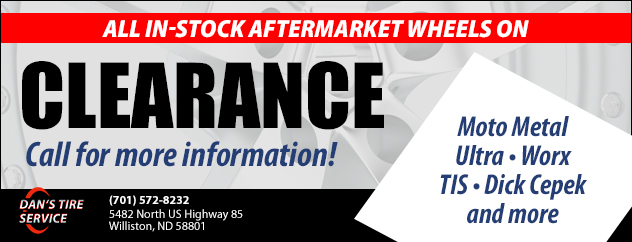 All in-stock aftermarket wheels on clearance!