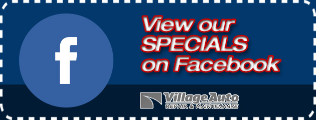 View our Specials on Facebook