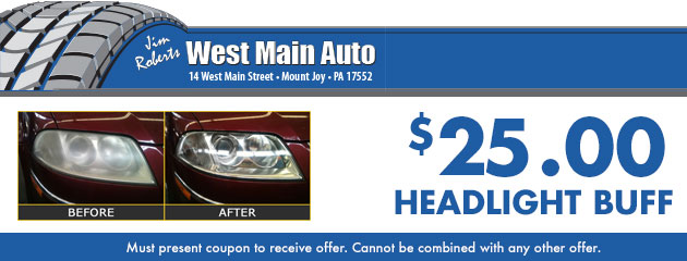 Headlight Buff - $25