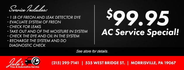 $99.95 AC Service Special!