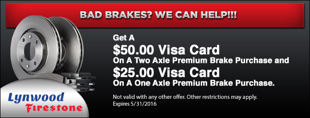 BAD BRAKES? WE CAN HELP!!!