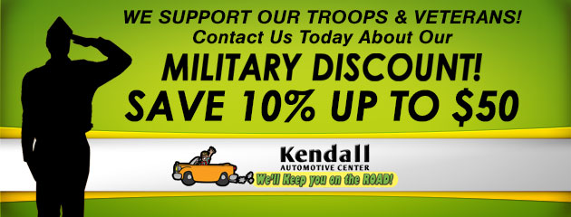 We Support Our Troops & Veterans! Contact Us Today About Our Military Discount!