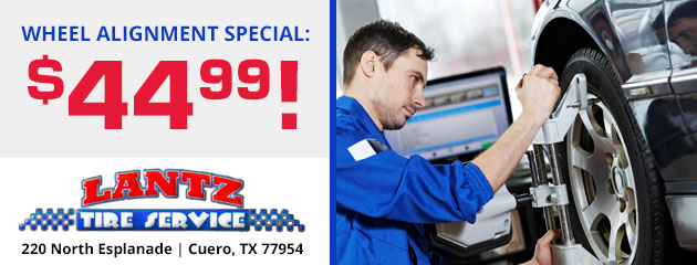 Wheel Alignment Special: $44.99!