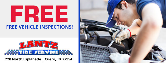 Free Vehicle Inspections!