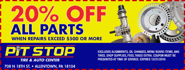 Parts pit stop coupon code