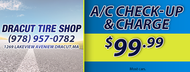 A/C Check Up and Charge - $99.99