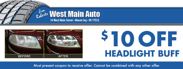 Headlight Buff - $10 OFF