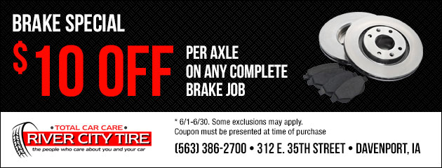 $10 Off Brake Special