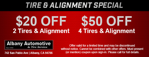 Tire & Alignment Special