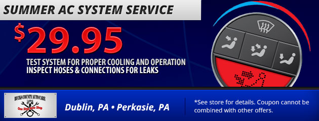 Summer AC System Service
