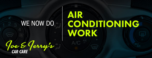 We Do Air Conditioning Work