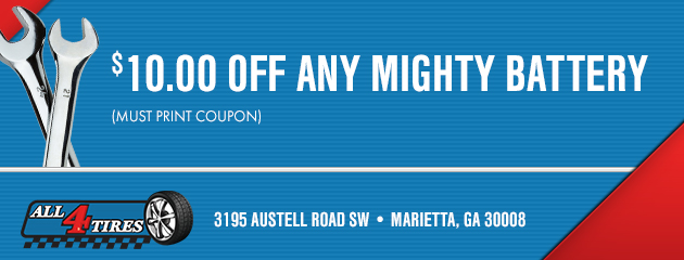 $10 Off Any Mighty Battery